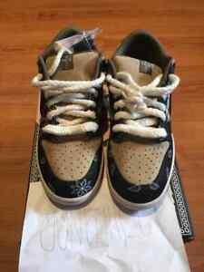 Size 9.5 - Nike SB Dunk Low Premium QS x Travis Scott Cactus Jack BOX