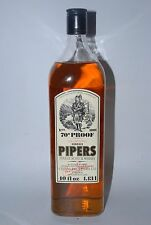 WHISKY HUNDRED PIPERS FINEST SCOTCH WHISKY 70 PROOF CHIVAS BROTHERS 1.13l.