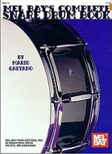 COMPLETE SNARE DRUM BOOK MEL BAY IDEAL DRUMMERS GIFT