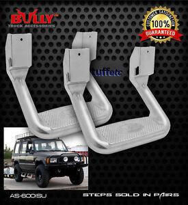 "Pair Bully 10"" Aluminum Side Steps Isuzu Amigo Pickup Rodeo Trooper Various Year"