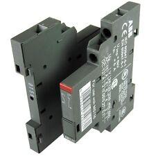 2x ABB N. 1 & 1 NC blocchi di contatto ausiliario 6a interruttori automatici hk1-11
