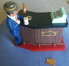 Drinkers Savings Bank Battery Operated By Windsor Japan Mint