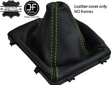GREEN STITCH LEATHER MANUAL GEAR BOOT 5 & 6 SPEED FITS HOLDEN VY VZ COMMODORE