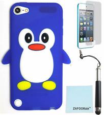 Penguin Silicona Gel Estuche Cubierta para Apple iPod Touch 5th y 6th generación 5/6