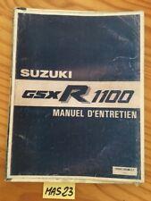 Suzuki GSXR1100 GSXR GSX-R 1100 revue technique manuel atelier