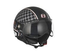 Helm SPEEDS Jet Cool Graphic schwarz/weiß soft-touch Größe M