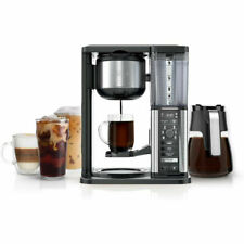 Ninja CM401 Specialty Fold-Away Frother Coffee Maker - Glass Carafe