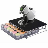 36 Coffee Pods Holder Drawer Special For Nescafe Dolce Gusto With Machine Stand