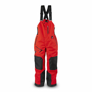 509 Racing Red Evolve Bib Shell Breathable Waterproof Backcountry Mid-Rise
