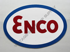 "Enco Oval 12"" Vinyl Decal (DC350)"