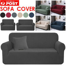 Sofa Covers Stretch Lounge Couch Slipcovers Protector 1 2 3 Seaters Dining Chair