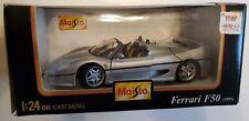 Brand New 1/24 Scale Maisto Die Cast Metal Ferrari F50 (1995)