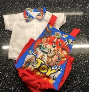 Romany Spanish Baby Boys' Toy Story Romper & Shirt Set 0-3 Months