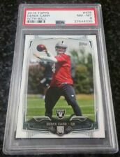 2014 Topps #438 Derek Carr (With Ball) Rookie PSA 8 NM-MT