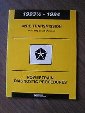 1993 1/2 -1994 Jeep Grand Cherokee 42RE Transmission Powertrain Diagnostics