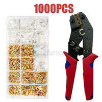 Electrical Crimper Kit Cable Wire Terminal Plier Crimping Tool With  ~