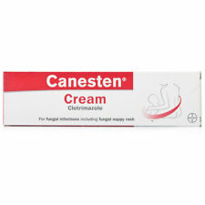 Canesten Antifungal Cream 1% Clotrimazole -Thrush/Nappy Rash/Athletes Foot - 50g