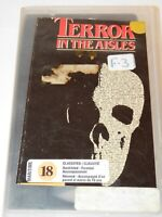 TERROR IN THE AISLES HORROR VHS TAPE PSYCHO JAWS FRANKENSTEIN MCA HOME VIDEO