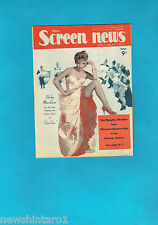 #T42.  NEW  SCREEN NEWS MAG. 14/4/1960, SHIRLEY MacLAINE  COVER