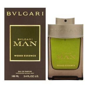 BVLGARI MAN WOOD ESSENCE * 3.3/3.4oz (100ml) EDP Spray * NEW & SEALED