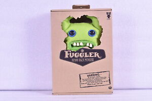 "Fuggler 9"" Funny Ugly Monster Sir Horns Alot Collectible Plush, Green"
