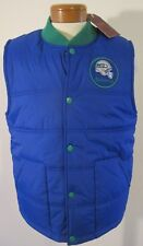 NWT Mitchell & Ness Seattle Seahawks Mens Play Clock Vest XL Royal Blue MSRP$100