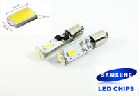 2x Canbus High Power SAMSUNG 3 SMD LED BAX9s For BMW Parking Light 64132 H6W