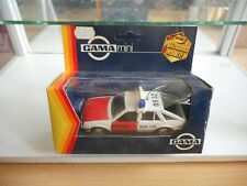 Gama Opel Ascona Notarzt in WHite/Red on 1:43 in Box