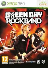 Rockband Green Day XBOX 360 Video Juego Original Perfecto estado UK release