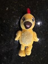 Chica Plush Sunny Side Sprout Squeaking Yellow Chick Chicken Stuffed Animal Toy