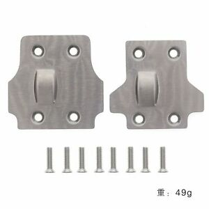 Steel Front Rear Skid Plate for 1/8 BLX Arrma Kraton Notorious Outcast Talion