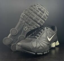 Nike Shox Turbo 14 Black Metallic Running Shoe 631760-002 Men s Size 8 8ef1596ea