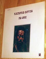 VINYL LP Richard Davis - As One Muse Records MR 5093