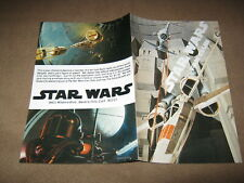 1978 STAR WARS VERY FIRST FAN CLUB BOOKLET MINT IN EXCELLENT CLEAN CONDITION