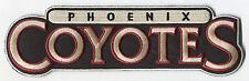 """2003-08 ERA PHOENIX COYOTES NHL HOCKEY 9"""" TEXT TEAM LOGO PATCH"""