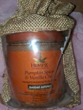 Hempz Limited edition Pumpkin Spice & Vanilla Chai Body Scrub