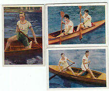 Full Series of CANOE RACING Cards from 1928