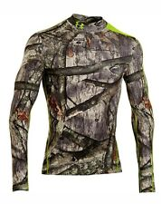 Under Armour ColdGear Infrared Scent Control Evo Mock Man Small 1248043 NEW $75