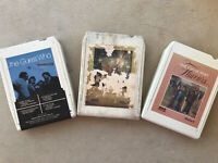 Lot (3) 8 Track Music Tapes by The Guess Who - Gambit, The Best Of & Flavours