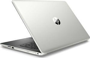 """HP 17 17z Silver Laptop PC 17.3"""" 3.1Ghz 8GB 1TB AC WiFi DVD+RW HDMI USB 3.1"""