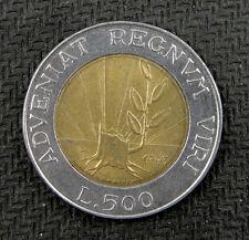 San Marino Bimetallic Coin 500 Lire 1993 AU-UNC