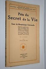 PRES DU SECRET DE LA VIE par PHUSIS  150 FIGURES