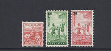 NEW ZEALAND 1938-39 HEALTH stamps (SG 610-12) F/VF MH