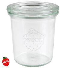 12 WECK Mini Sturzglas 140ml, Kuchen Sturz Form Glas Backen Dessert Fingerfood