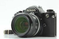 【NEAR MINT】 Nikon New FM2 N Honeycomb Titanium Shutter & Ai 35mm f/2 Lens JAPAN