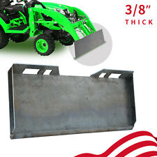 38 Quick Tach Attachment Mount Plate Skid Steer Hitch Steel Front Loader Plate
