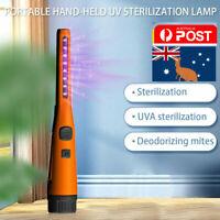 Portable UV Sanitizer Handy Disinfectant Wand UV Sterilizer Germicidal Light AU