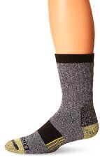 Dickies Mens Steel Toe Kevlar Reinforced Crew Socks Black, 10-13 Sock, Shoe 6-12