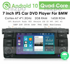 For BMW 3 E46 M3 7-inch Android 10 Car Radio Stereo In-Dash DVD Player GPS Navi