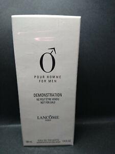 O pour Homme Lancome 100 ml Eau de Toilette Spray EDT Vintage